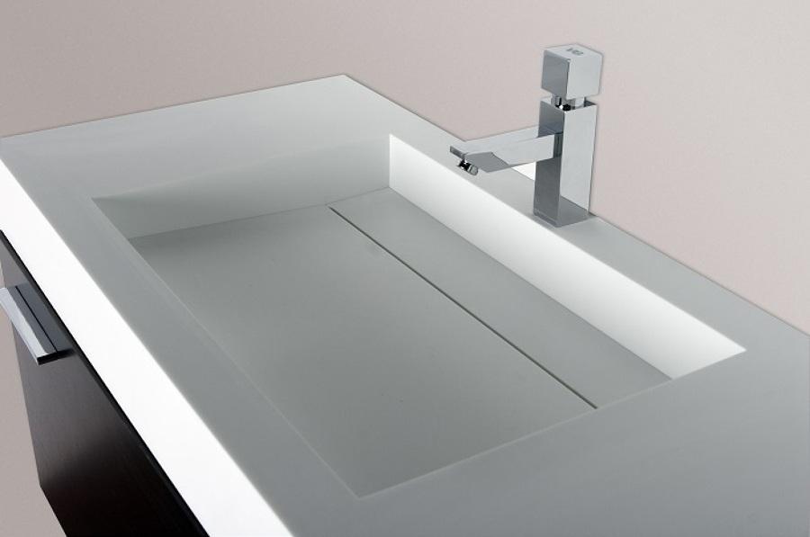 Foto lavabo corian de articryl 1470027 habitissimo - Lavabos de corian ...