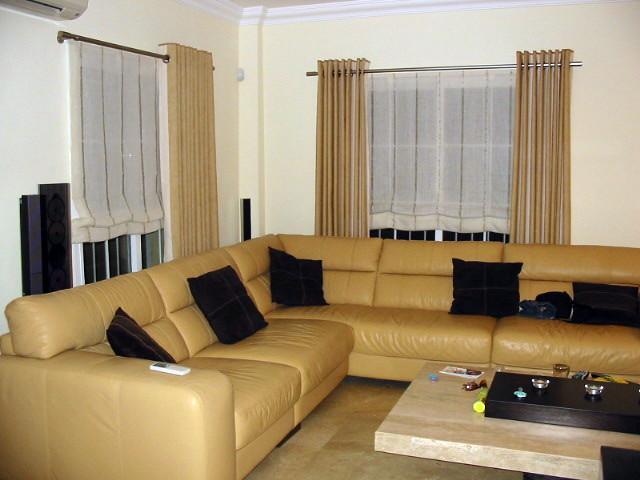 cortina con ollados