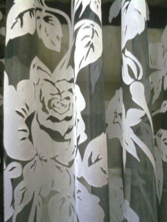 Foto cortina confeccionada de clasica tapiceria y - Tapiceros en salamanca ...