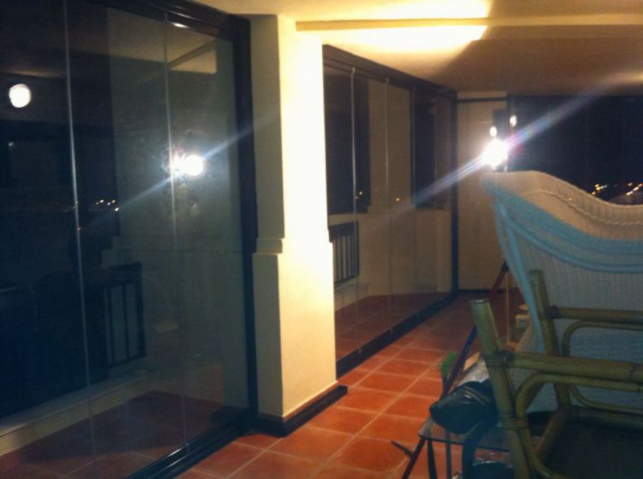 Foto cortina de cristal en fuengirola de close house - Cortinas fuengirola ...