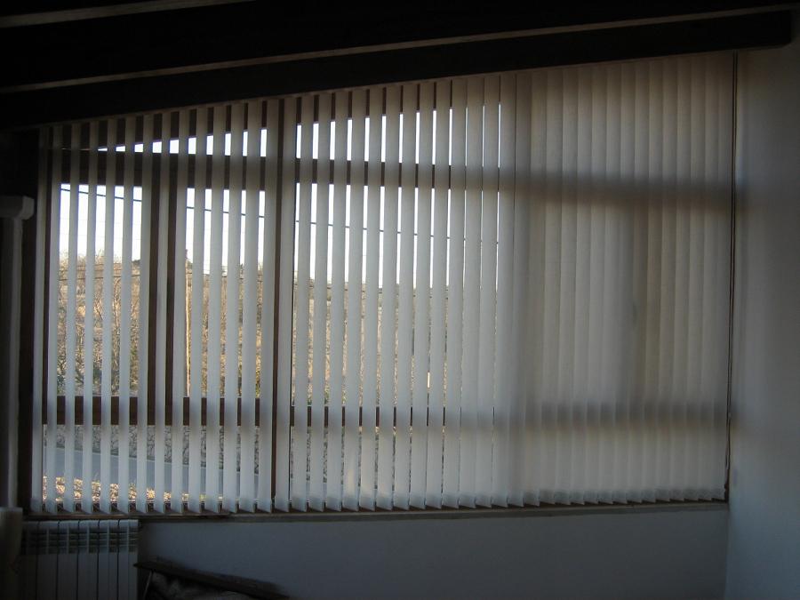 Foto cortina lamas verticales de milfils decoraci - Cortina de lamas verticales ...