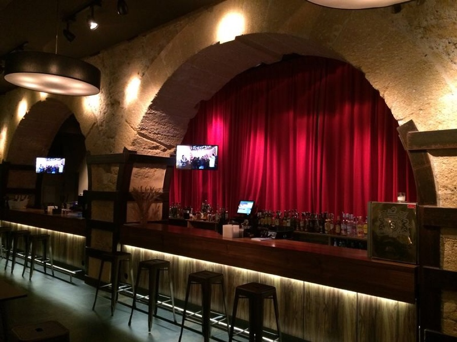 Cortinas en Club Lounge