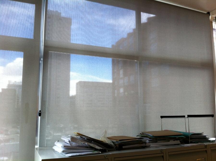 Cortinas enrollables tejido tecnico Polyscreen