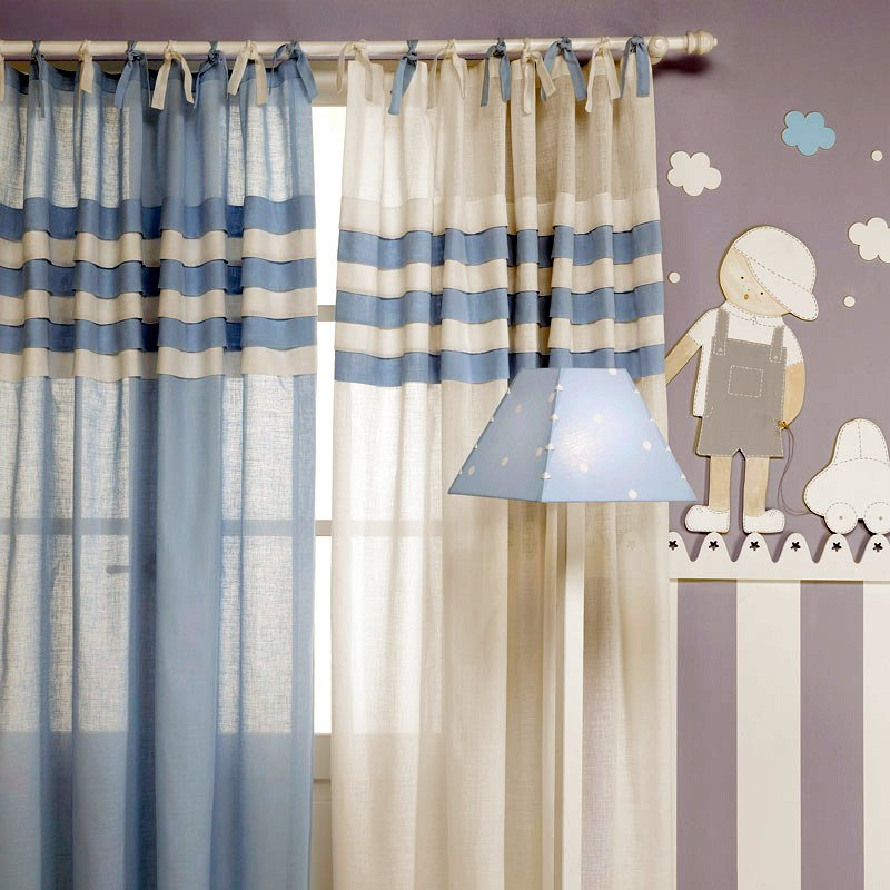 Foto cortinas infantiles de ebano textil 280302 habitissimo - Cortinas infantiles barcelona ...