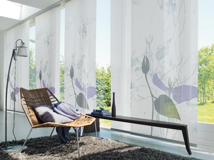 Foto cortinas panel japones irun de persianas egoki - Cortinas estilo japones ...