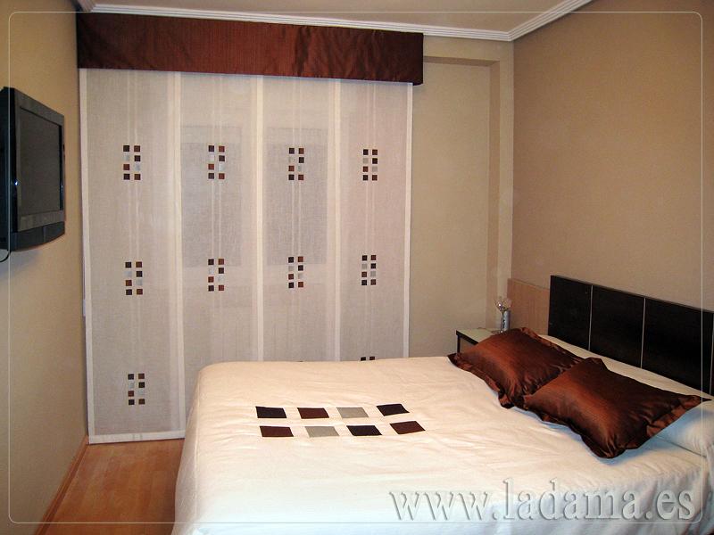 Foto cortinas para dormitorio de la dama decoraci n - Cortinas de dormitorios ...