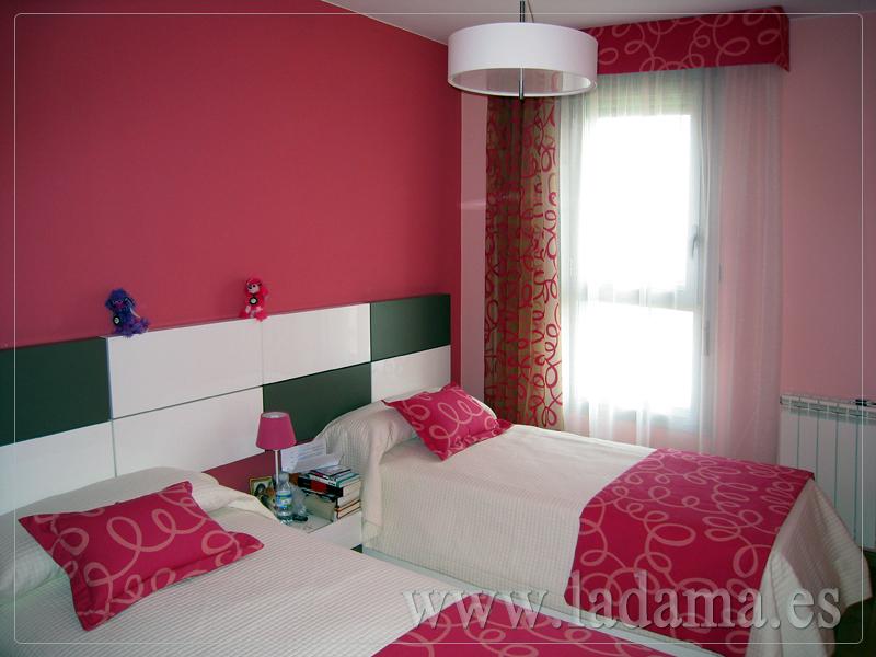 Foto cortinas y fundas n rdicas para dormitorio juvenil - Cortinas de cuartos juveniles ...
