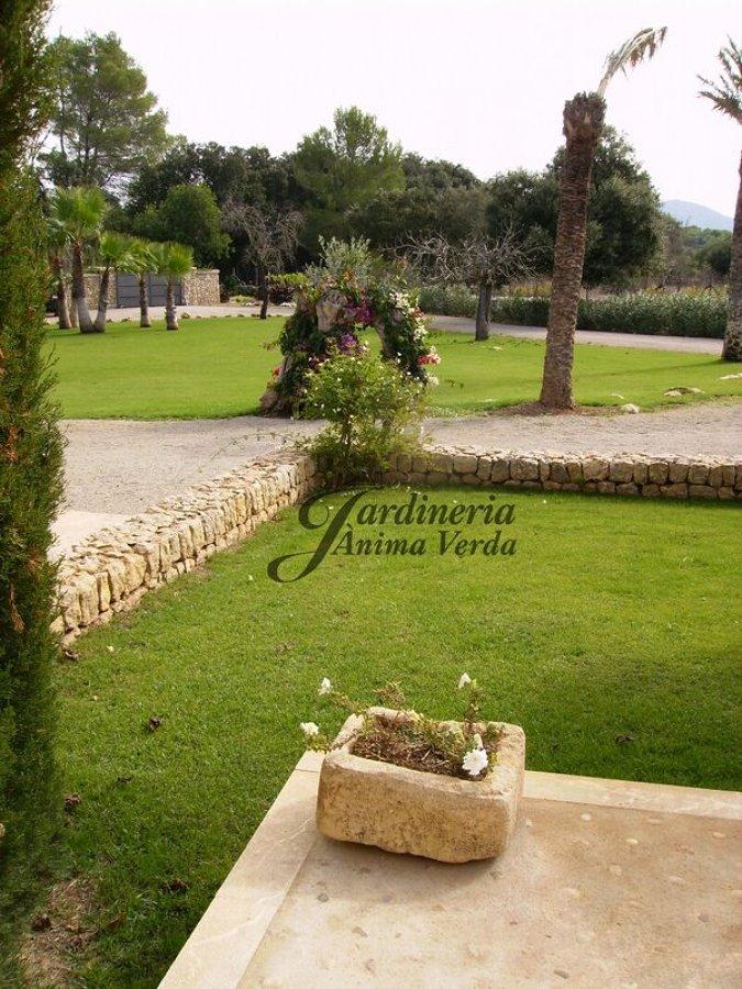 Foto creaci n de jardines de jardineria nima verda for Creacion de jardines