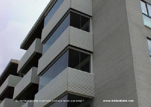 Foto cristales para terrazas en comunidades de kasabona - Cristaleras para terrazas ...