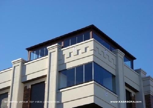 Foto cristales para terrazas y aticos de kasabona 246652 - Cristaleras para terrazas ...