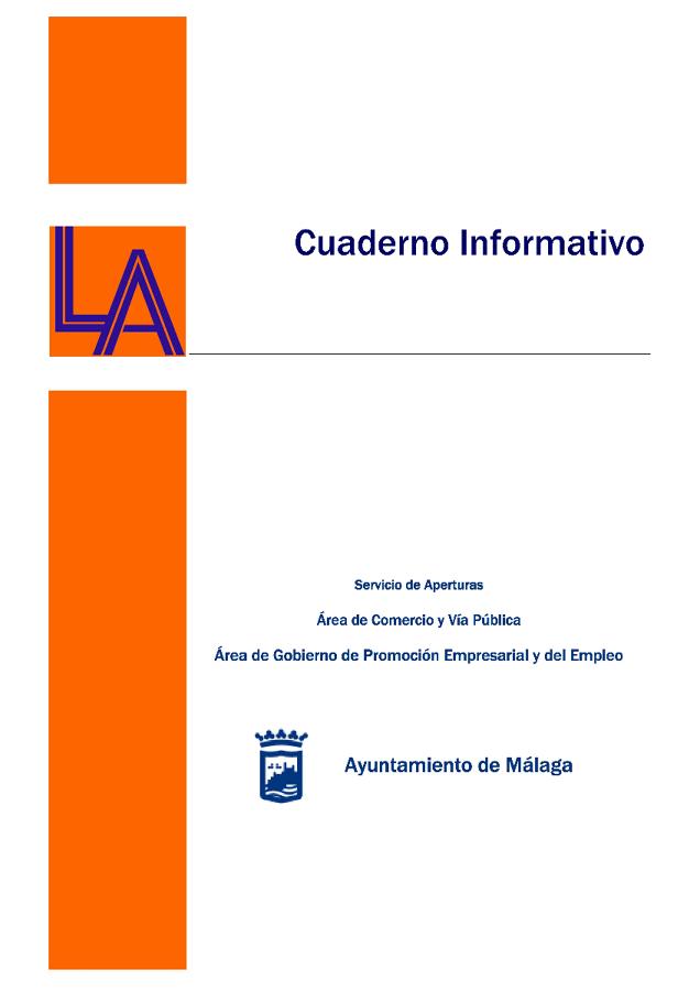 Cuaderno Informativo Licencias Apertura 1