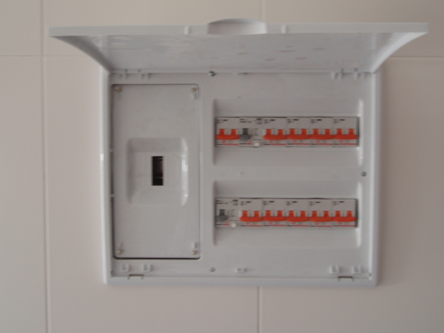 foto cuadro el ctrico de vivienda de instalaciones
