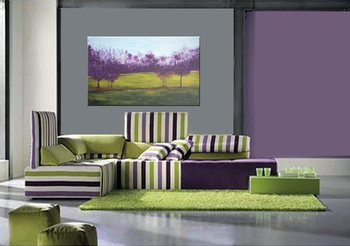 Foto cuadro paisaje impresionista de ruzdec cuadros for Cuadros decoracion zaragoza