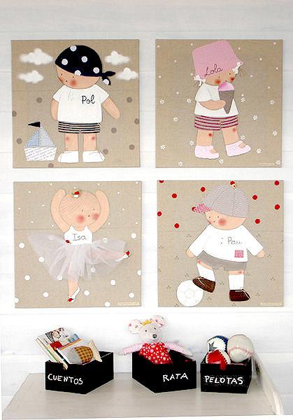 Foto cuadros infantiles personalizados de infantdeco - Cuadros fotos personalizados ...