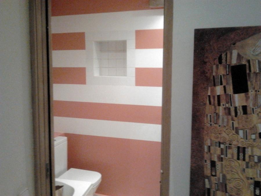 Colores De Baño Feng Shui: de dos colores, baldosas de gres porcelánico en formato cuadrado, con