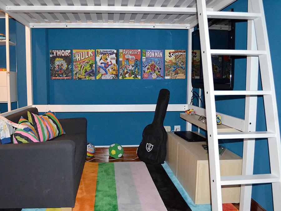 Pintura habitación juvenil