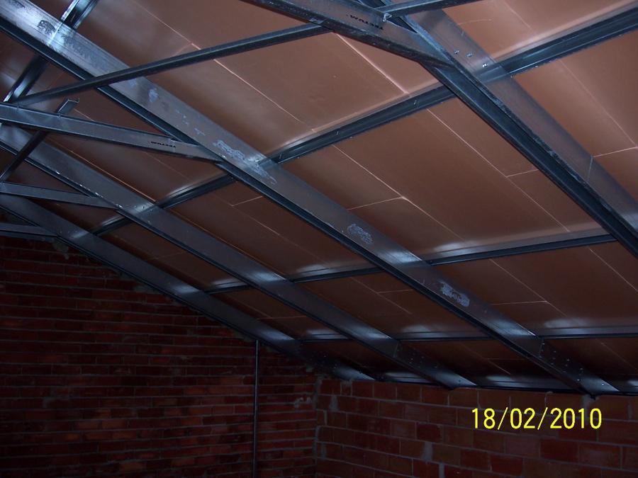 Foto cubierta con estructura met lica ligera de proyectos y subcontratas s l 303567 habitissimo - Estructura metalica cubierta ...
