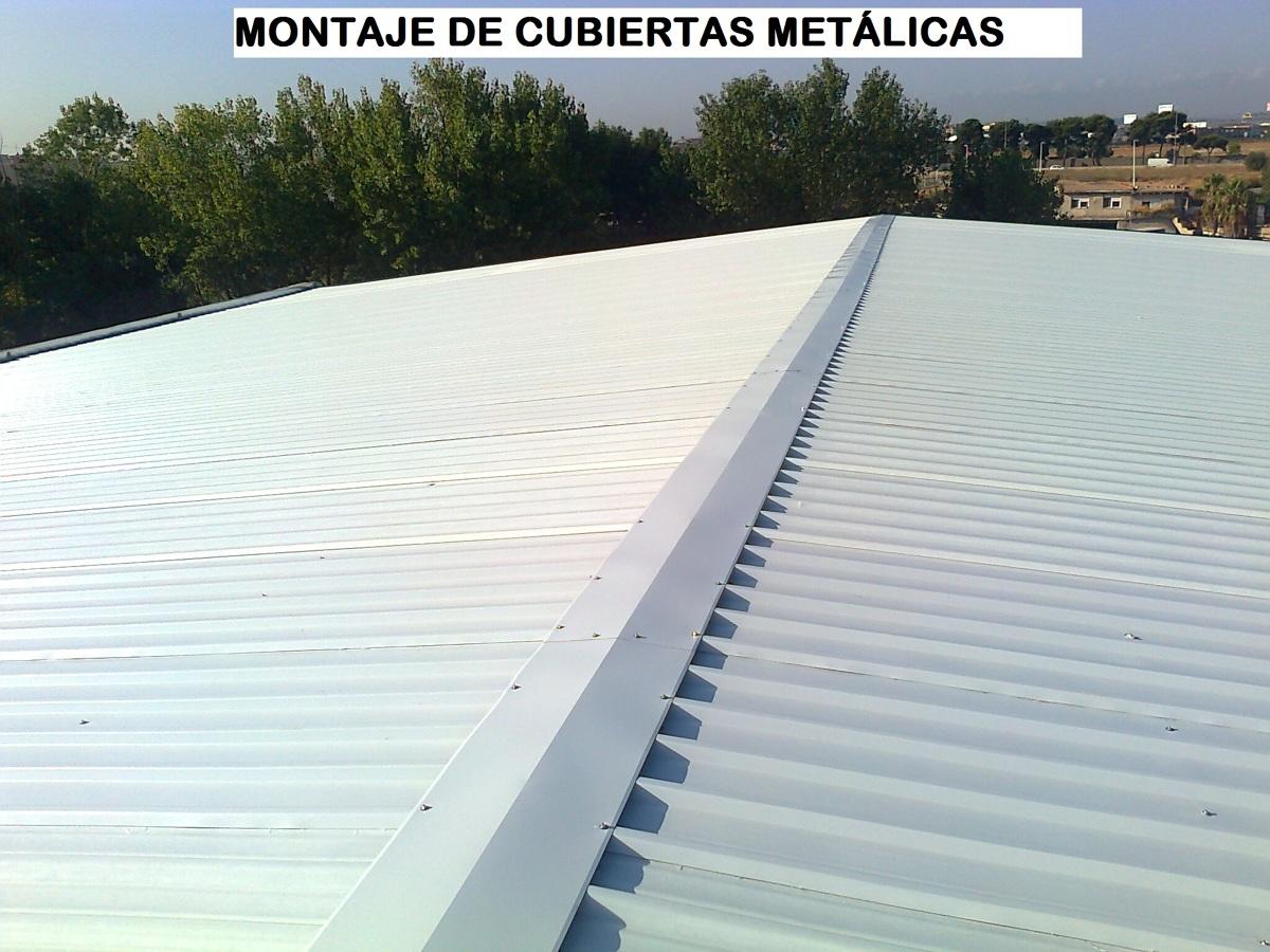 Foto cubierta de chapa grecada prelacada de metalicas dm - Cubierta chapa galvanizada ...