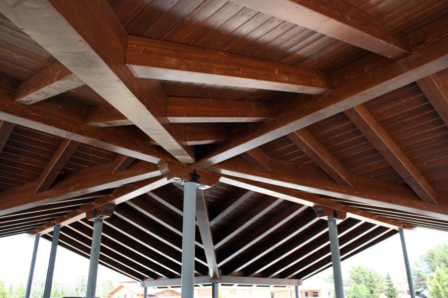 Foto cubierta de madera en teruel de carpinteria - Carpinterias de madera en valencia ...