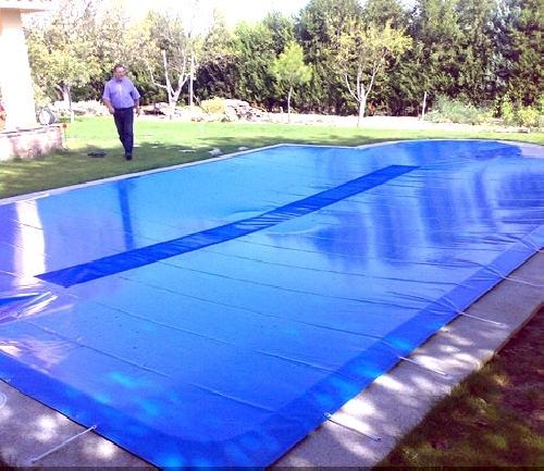 cubierta de piscina super resistente grandes dimensiones