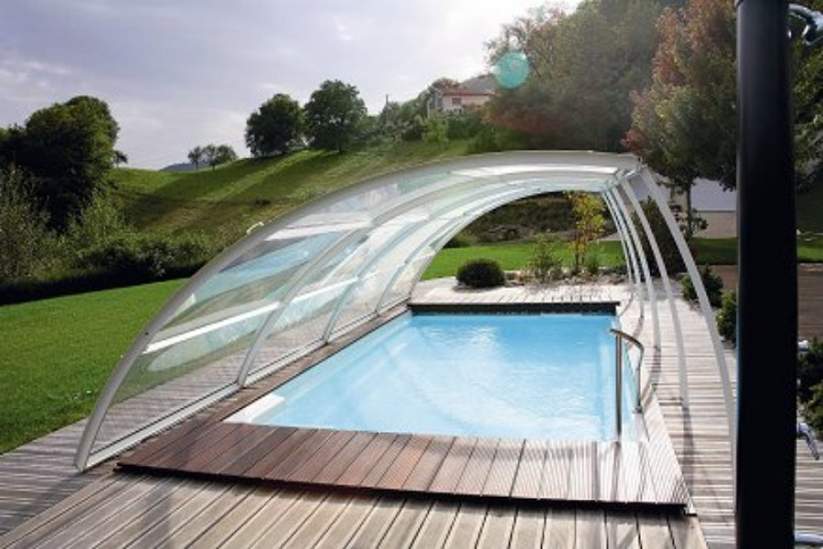 Foto cubierta de piscina de aiguanet 450954 habitissimo for Piscinas cubiertas salamanca