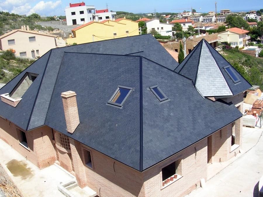 Foto cubierta de pizarra de cubiertas gonz lez s l 143759 habitissimo - Cubiertas de pizarra en madrid ...