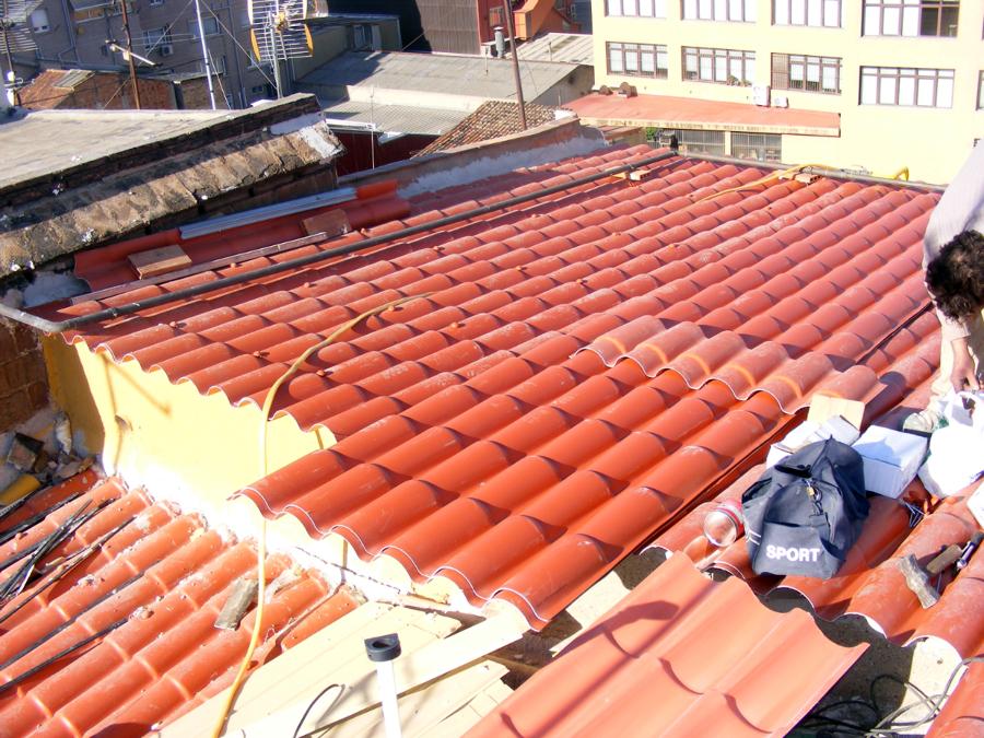 Placas de para tejados placastecho with placas de para for Chapa imitacion teja sin aislamiento