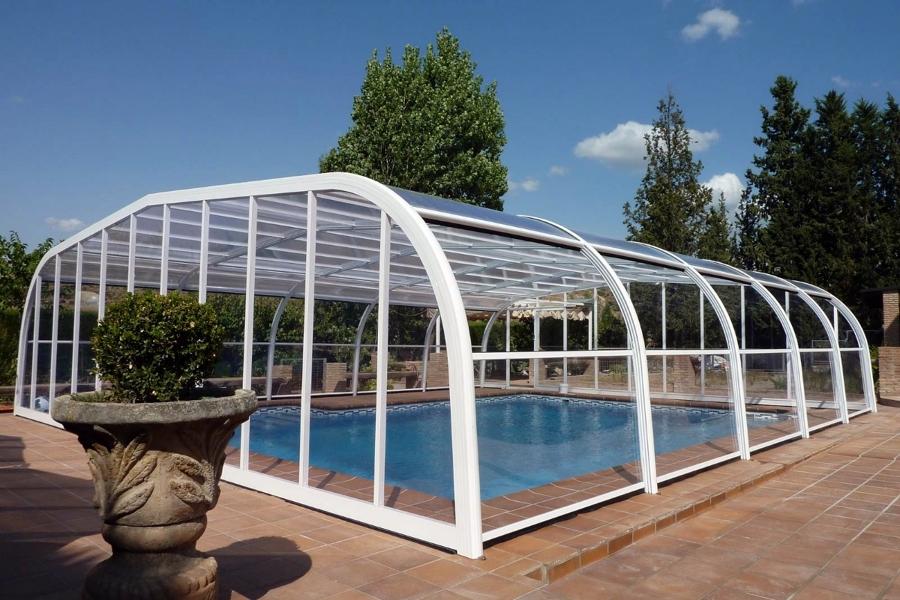 Foto cerramientos piscinas cubripiscinas de for Piscinas cubiertas salamanca