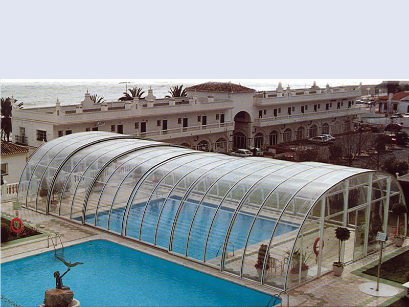Foto cubierta piscinas de cubiertas de piscina acmsa for Piscinas cubiertas granada