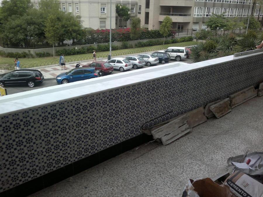 cubre muro de terraza