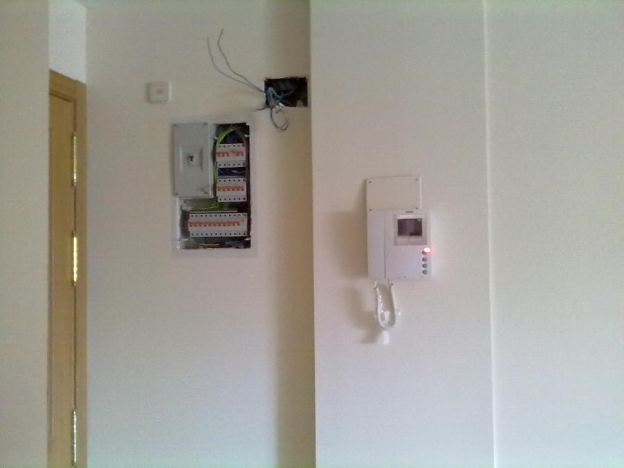 cudro electrico y video portero