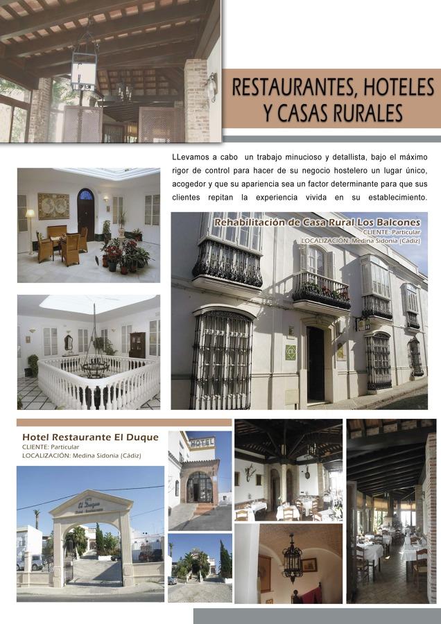 TRABAJOS DE HOTELES Y CASAS RURALES