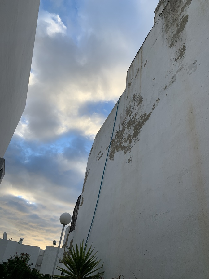 Antes fachada