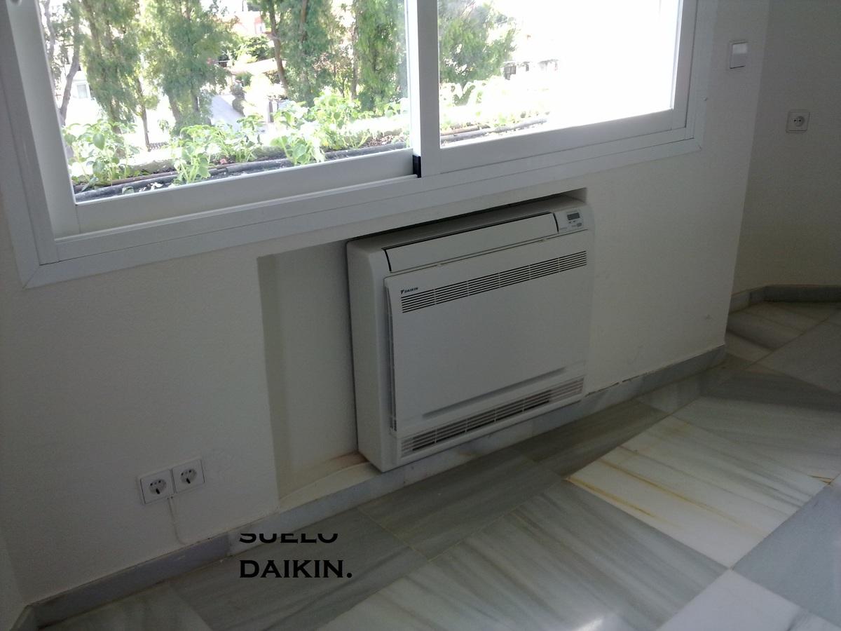 Daikin inverter suelo