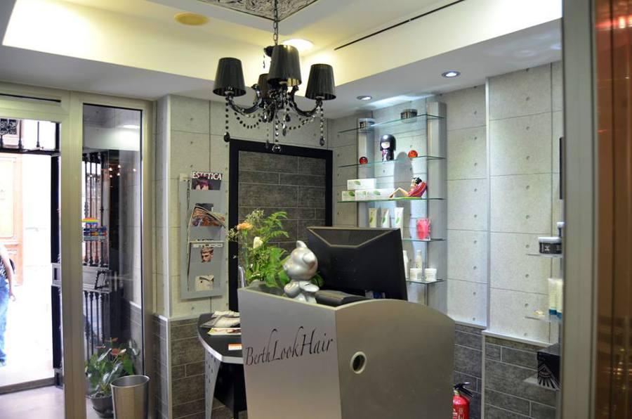 Decoración centro de estilismo y estética