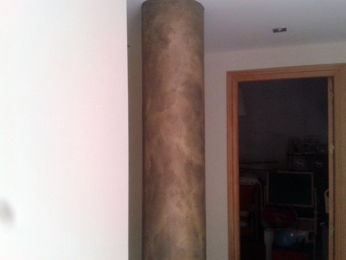 Decoracion de columna