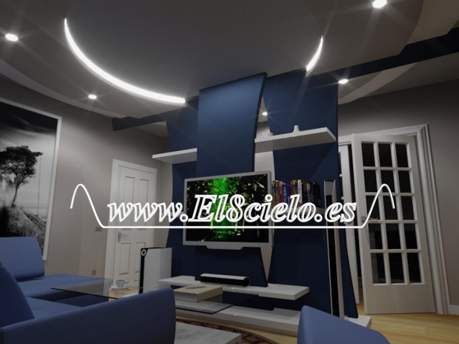 Foto decoracion de interiores de decoracion con pladur for Decoracion de interiores guadalajara