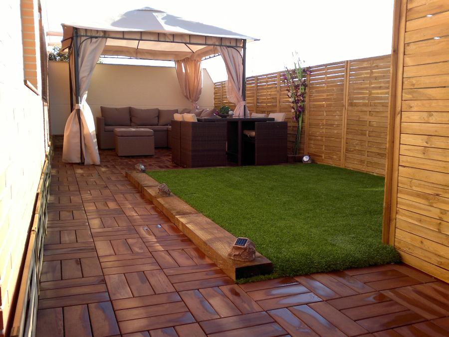 Foto decoraci n de terraza de obra 360 407864 habitissimo for Decoracion jardin granada