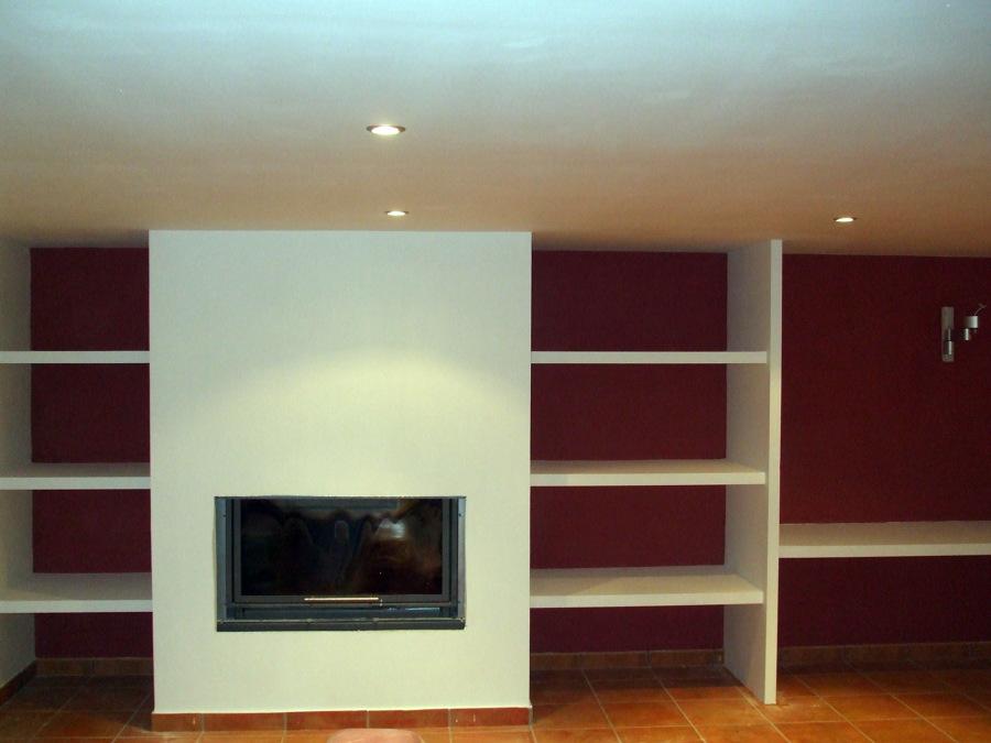 Foto decoraci n pladur de pinturas detalle 450795 habitissimo - Muebles de pladur para salon ...