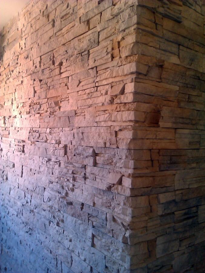 decoracion revestimiento de pared de piedra