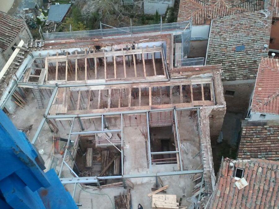 Demolición viviendas antiguas