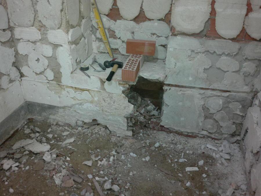 demolición y reforma de baño