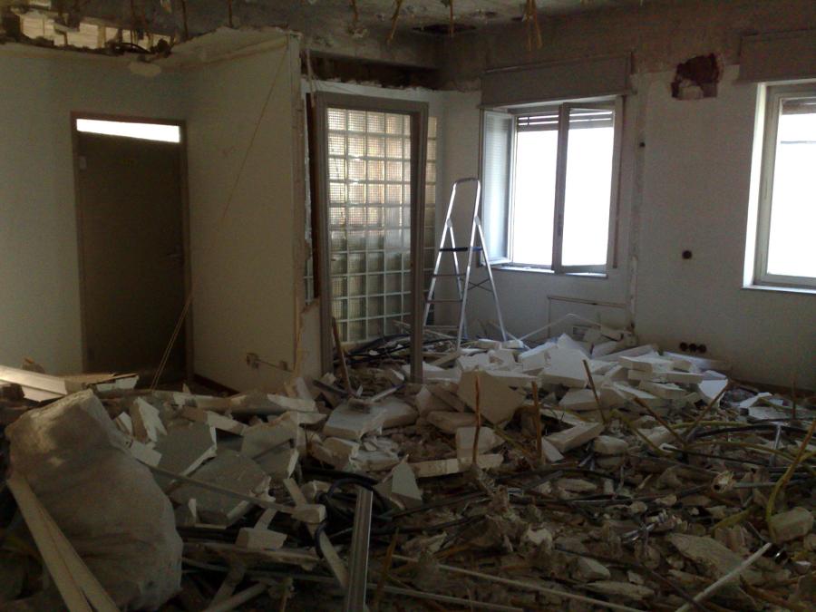 Demoliciones de Obra Oficinas