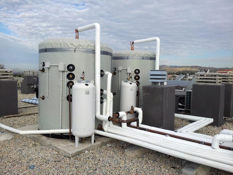 Depósitos de 4000 producción ACS.