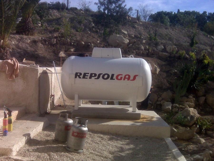 Depositos de gas propano