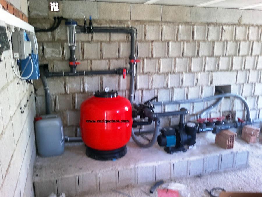 Foto depuradora piscina de electro automatica enrique for Depuradoras para piscinas
