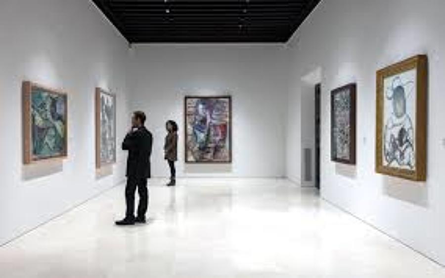 ILUMINACIÓN SALAS  EXPOSICIÓN PERMANENTE MUSEO PICASSO, MALAGA.