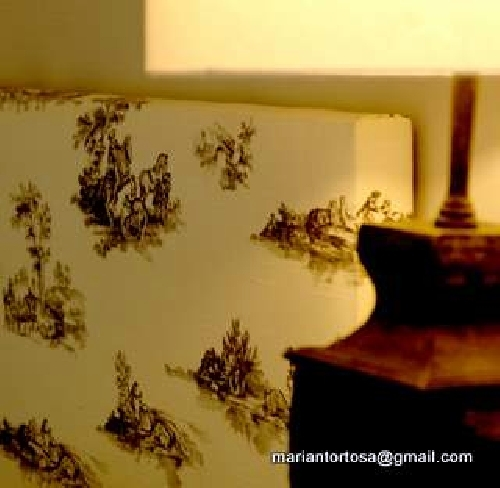 Foto detalle cabezal tapizado de tapidecor 266421 - Tapidecor alzira ...