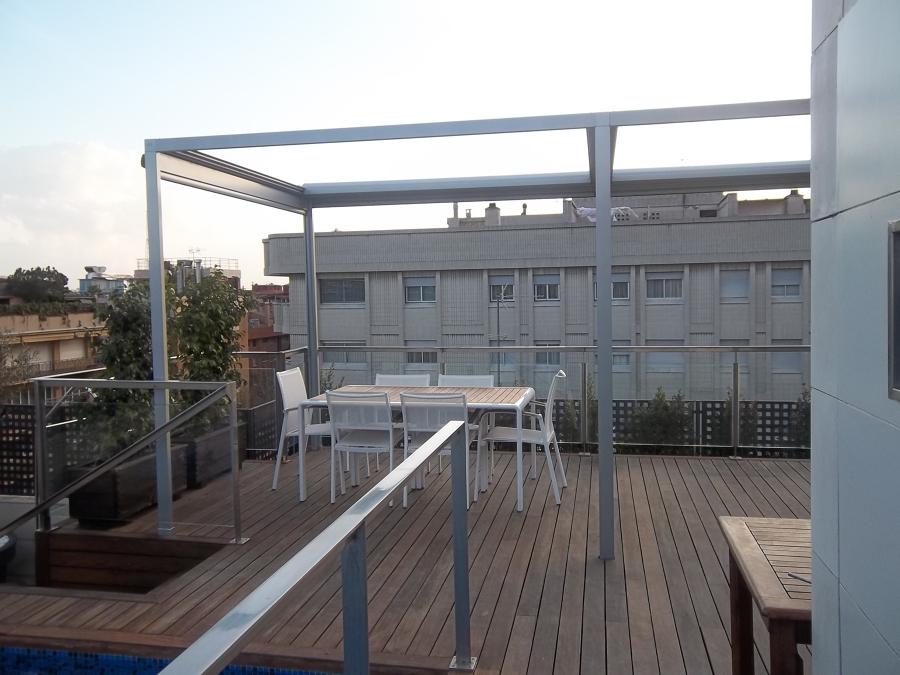 Detalle chasis cierre toldos veranda y verticales