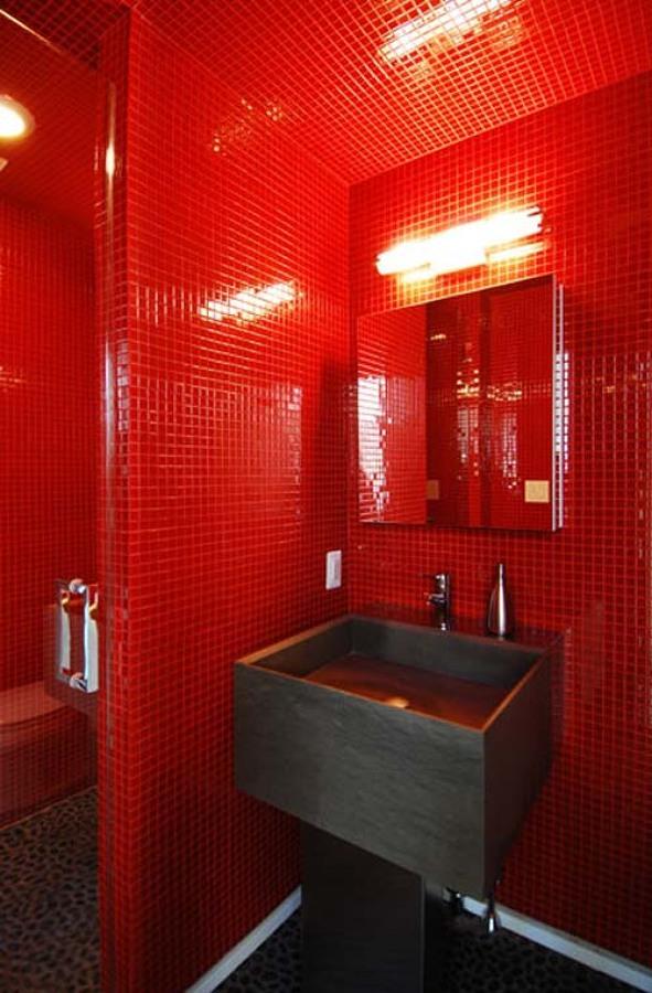 Detalle de baño en Reforma